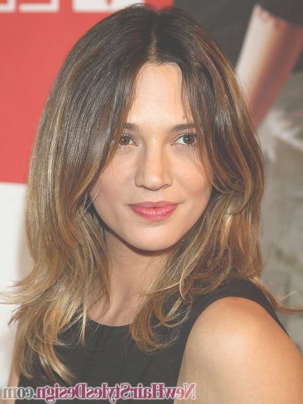 15 Best Hair Styles Images On Pinterest | Hair Cut, Square Face With Regard To Current Medium Medium Haircuts For Thick Wavy Hair (View 12 of 25)
