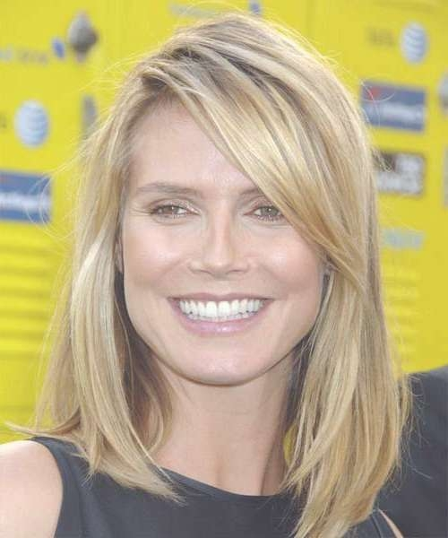 Showing Gallery of Heidi Klum Medium Haircuts (View 4 of ...
