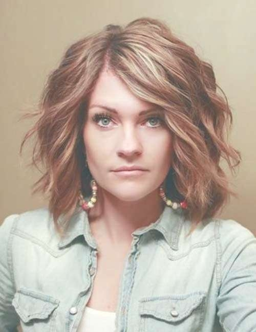 15 Best Ideas Of Medium Short Haircuts For Thick Wavy Hair Intended For Newest Medium Medium Haircuts For Thick Wavy Hair (View 9 of 25)