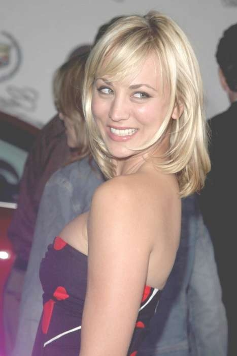 15 Best Kaley Cuoco Hairstyles | Hairstyles Update With Regard To Most Up To Date Kaley Cuoco Medium Hairstyles (View 3 of 15)