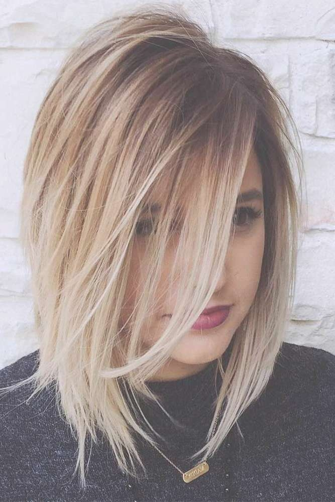 View Gallery Of Medium Haircuts Layered Showing 18 Of 25 Photos