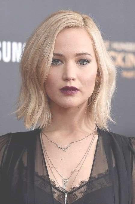 15 Best Of Jennifer Lawrence Short Bob Haircuts Inside Jennifer Lawrence Bob Haircuts Jennifer Lawrence (View 6 of 25)