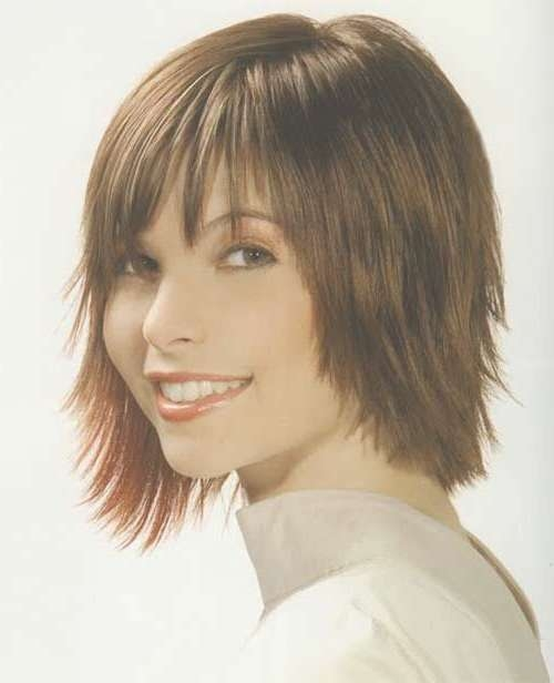15 Best Short Hairstyles Images On Pinterest | Short Films Pertaining To Most Recently Medium Hairstyles With Short Bangs (View 17 of 25)