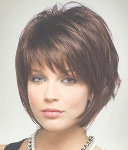 15 Cute Chin Length Hairstyles For Short Hair – Popular Haircuts With Short Length Bob Hairstyles (View 2 of 25)