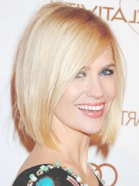 15 Hottest Bob Haircuts – Short Hair For Women And Girls 2018 Intended For One Length Bob Haircuts (View 1 of 25)