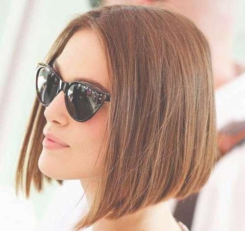 15 Keira Knightley Bob Haircuts | Short Hairstyles 2016 – 2017 With Keira Knightley Bob Haircuts (View 7 of 25)
