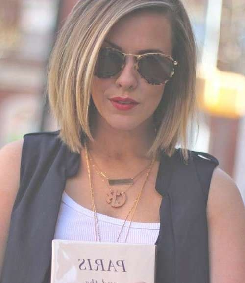 15 Medium Bob Haircuts | Bob Hairstyles 2015 – Short Hairstyles Within Best And Newest Medium Haircuts For People With Glasses (View 7 of 25)