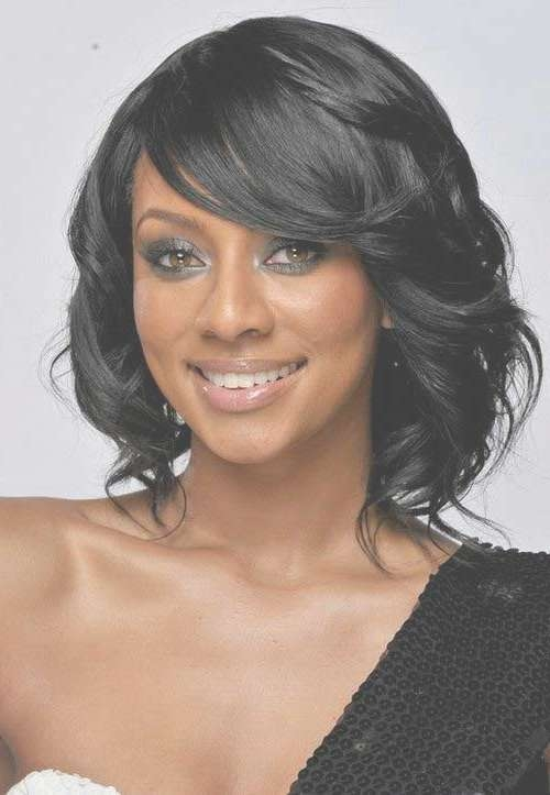 15 New Short Hairstyles With Bangs For Black Women | Short Throughout Most Recent Black Medium Hairstyles With Bangs And Layers (View 17 of 25)