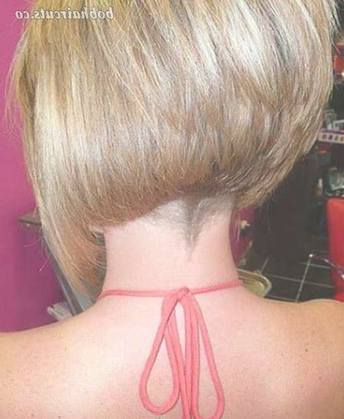 15 Shaved Bob Hairstyles Ideas | Bob Hairstyles In Bob Haircuts Shaved In Back (View 4 of 25)
