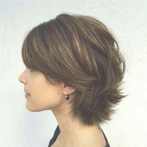 15 Short Haircuts With Layers | Short Hairstyles 2016 – 2017 Intended For Short Layered Bob Hairstyles (View 14 of 25)