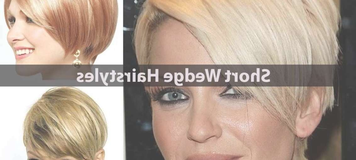 15 Short Wedge Hairstyles For Fine Hair – Hairstyle For Women Regarding 2018 Wedge Medium Haircuts (View 22 of 25)