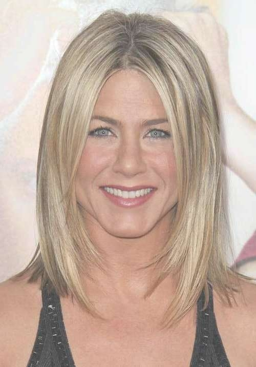 15 Spectacular Jennifer Aniston Long Bob Pictures – Crazyforus Inside Jennifer Aniston Long Bob Haircuts (View 3 of 25)