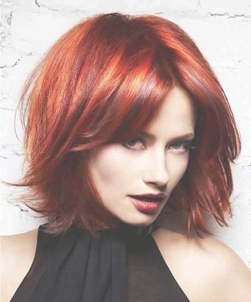 15 Thick Medium Length Hairstyles | Hairstyles & Haircuts 2016 – 2017 Pertaining To Best And Newest Medium Hairstyles With Red Hair (View 1 of 15)