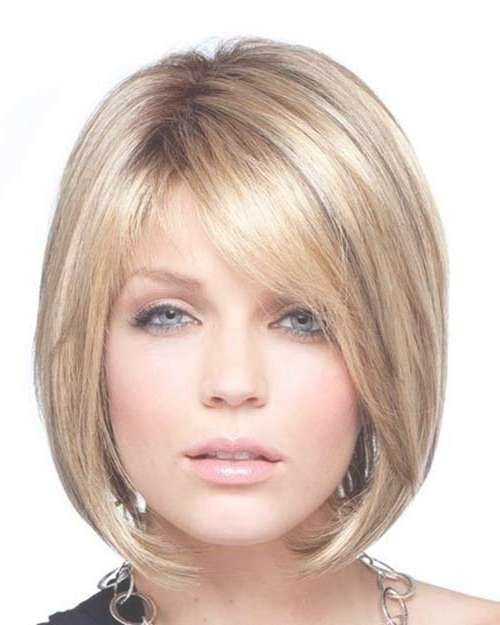 15 Unique Chin Length Layered Bob | Short Hairstyles 2016 – 2017 In Jaw Bob Haircuts (View 7 of 25)
