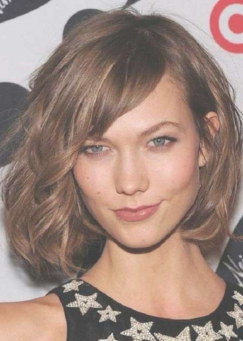 15 Unique Chin Length Layered Bob | Short Hairstyles 2016 – 2017 Inside Jaw Bob Haircuts (View 8 of 25)