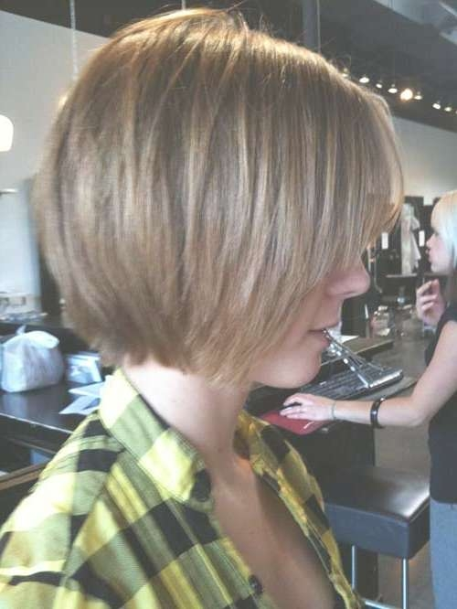 15 Unique Chin Length Layered Bob | Short Hairstyles 2016 – 2017 Throughout Jaw Bob Haircuts (View 10 of 25)