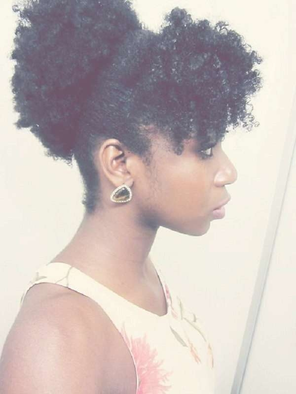 152 Best 4C For Realz Images On Pinterest | Natural Hair Care In Most Popular 4C Medium Hairstyles (View 2 of 15)