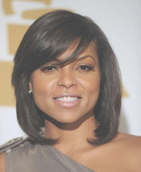 152 Best Celebrity Hairstyles Images On Pinterest | Celebrity For 2018 Very Medium Haircuts For Black Women (View 7 of 25)