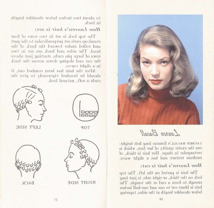 16 Best 1950S Hairstyles Images On Pinterest | 1950S Hairstyles Inside Latest Old Hollywood Medium Hairstyles (View 25 of 25)