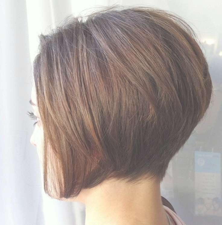 16 Chic Stacked Bob Haircuts: Short Hairstyle Ideas For Women With Classic Bob Hairstyles (View 3 of 25)