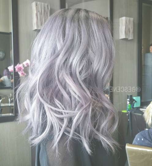 16 Flattering Medium Hairstyles For 2018 – Pretty Designs With Most Recent Purple Medium Hairstyles (View 1 of 25)