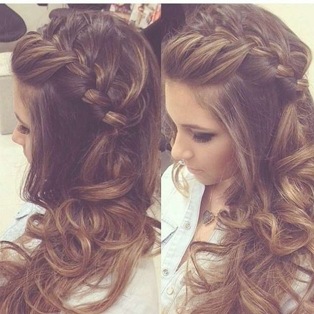 16 Great Prom Hairstyles For Girls – Pretty Designs Regarding Most Up To Date Long Hairstyle For Prom (View 1 of 25)