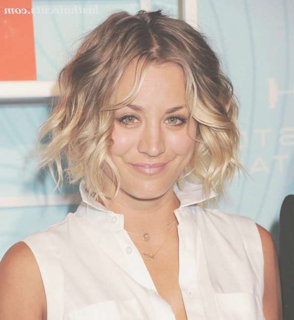 1624 Best Last Haircuts Images On Pinterest | Hair Dos, Hairstyle For Most Recent Kaley Cuoco New Medium Haircuts (View 2 of 25)
