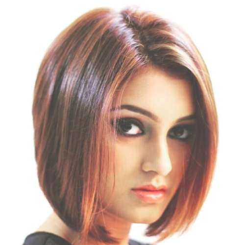 17 Best Blunt Bob Hairstyles For Indian Girls And Women Throughout Indian Bob Haircuts (View 6 of 25)