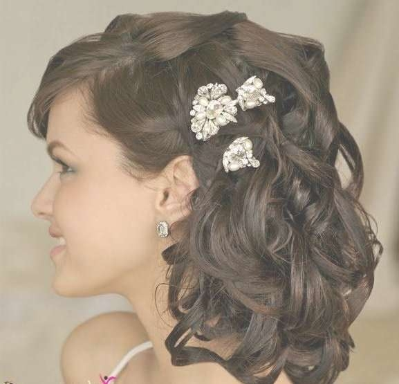 17 Best Hairstyles Images On Pinterest | Bridal Hairstyles With Most Current Medium Hairstyles For Indian Wedding (View 2 of 15)