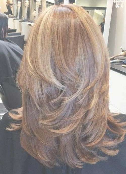 17 Best Personal Hair Images On Pinterest | Hair Cut, Make Up For Most Current Medium Haircuts With Layers (View 10 of 25)