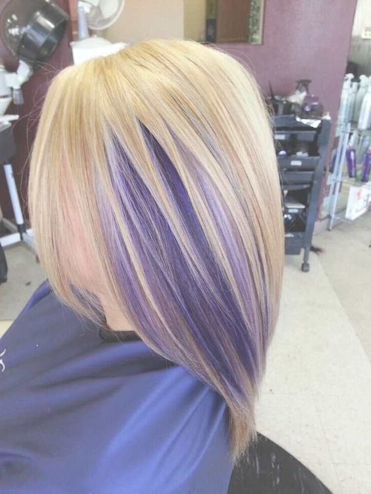 17 Stylish Hair Color Designs: Purple Hair Ideas To Try! – Popular Pertaining To Current Purple Medium Hairstyles (View 2 of 25)