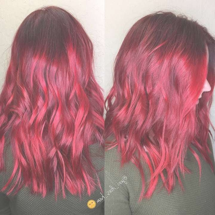 178 Best Hair Trends Images On Pinterest | Hair Trends, In Style With Regard To Most Popular Bright Red Medium Hairstyles (View 11 of 15)