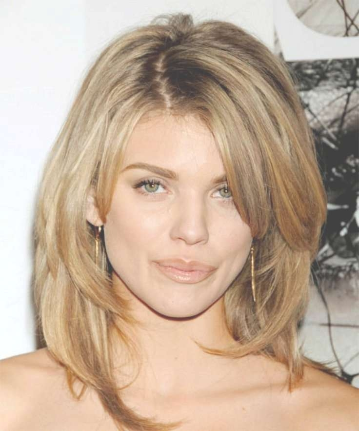 18 Best Awesome Short Hairstyles For Fine Hair Images On Pinterest For Most Popular Medium Haircuts For Long Faces (View 3 of 25)