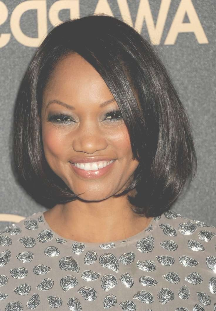 18 Best Face Slimming Hairstyles For Round Faces Images On Intended For Current Medium Haircuts For African American Women With Round Faces (View 9 of 25)