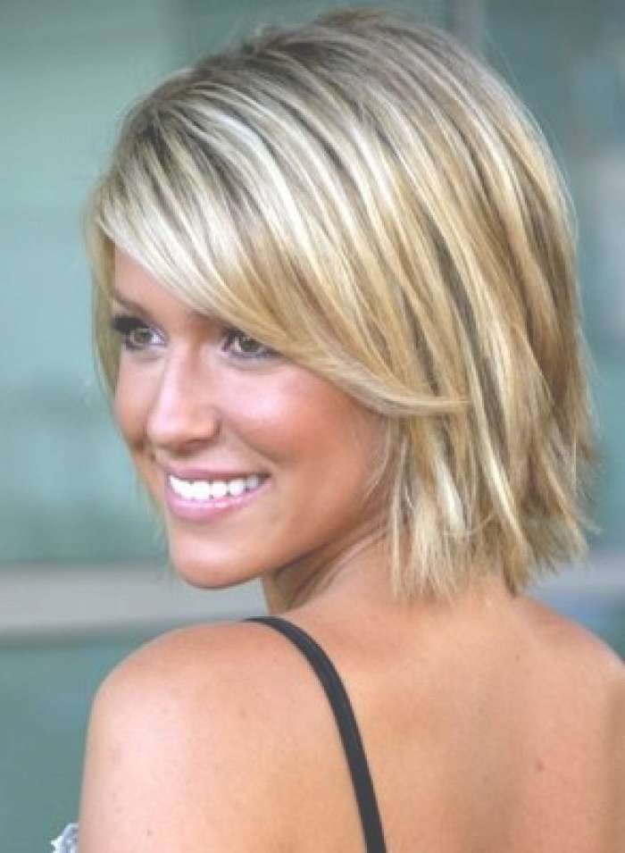 18 Best Haircuts Images On Pinterest | Hairstyle Ideas, Braids And Pertaining To Best And Newest Choppy Medium Haircuts For Fine Hair (View 11 of 25)
