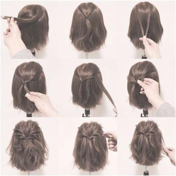 Featured Photo of Half Up Medium Hairstyles
