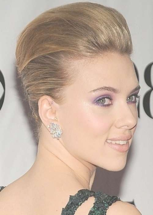 18 Pretty Updos For Short Hair: Clever Tricks With A Handful Of Regarding Updos For Bob Haircuts (View 20 of 25)