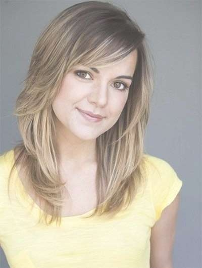 18 Shoulder Length Layered Hairstyles – Popular Haircuts Pertaining To Recent Medium Haircuts Layered (View 9 of 25)