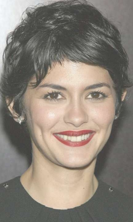 183 Best Audrey Tatou Images On Pinterest   Audrey Tautou, Hair For Newest Audrey Tautou Medium Haircuts (View 22 of 25)