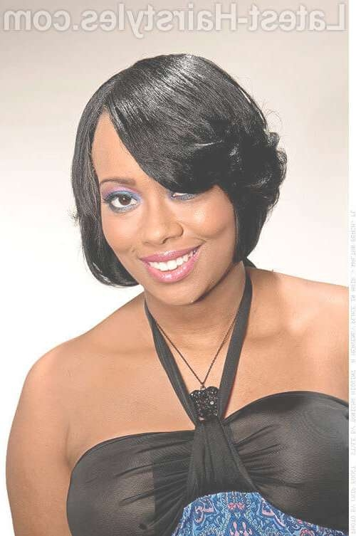 19 Amazing Prom Hairstyles For Black Girls And Young Women Pertaining To Most Current Medium Hairstyles For Black Ladies (View 3 of 25)