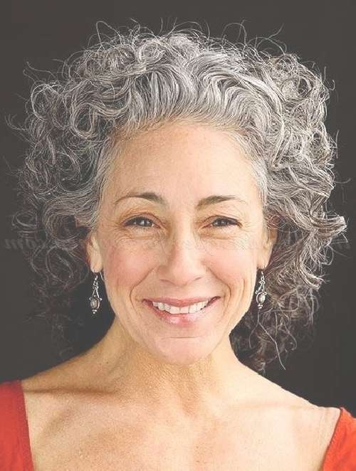 19 Best Hair Images On Pinterest   Hair Cut, Braids And Curly Hair Within Latest Medium Haircuts For Grey Haired Woman (View 25 of 25)