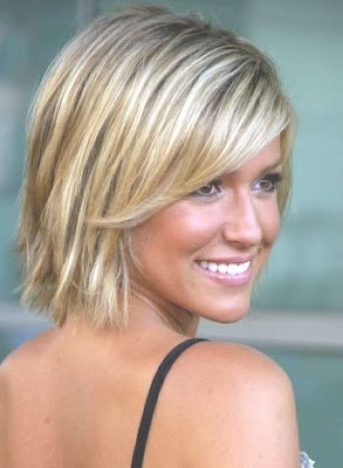 19 Best Haircut Options Images On Pinterest | Hair Cut, Make Up Throughout Most Current Medium Haircuts For Thin Hair And Oval Face (View 6 of 15)