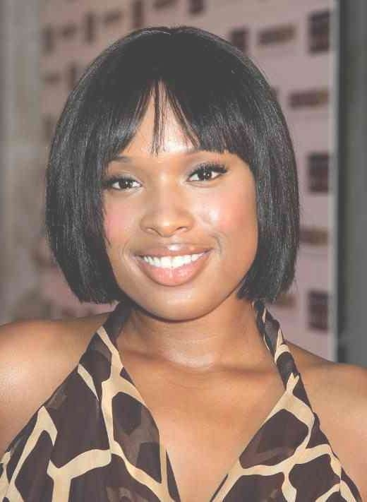 19 Best Hairstyles Images On Pinterest | Hairstyles For Black For Best And Newest Medium Haircuts For Black Women With Round Faces (View 6 of 25)