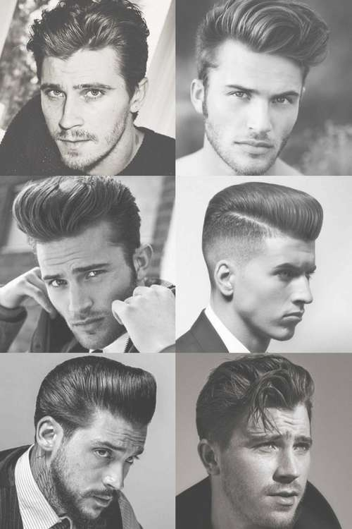 1950S Hairstyles For Men | Men's Hairstyles + Haircuts 2018 Throughout Recent 1950S Medium Hairstyles (View 4 of 25)