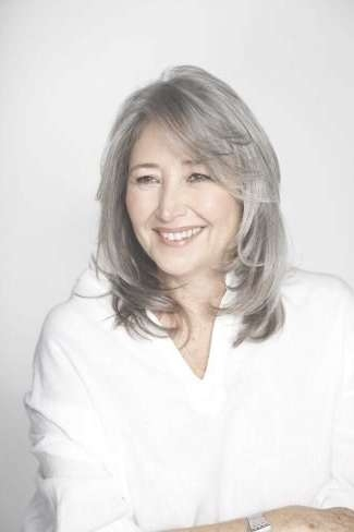 199 Best Hair: Grey / Gray Images On Pinterest | Grey Hair, Silver Throughout Best And Newest Medium Hairstyles For Grey Haired Woman (View 21 of 25)