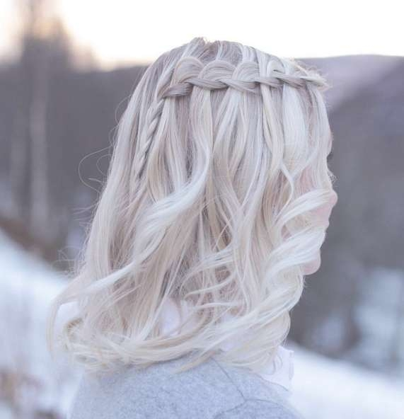 20 Amazing Braided Hairstyles For Homecoming, Wedding & Prom With Regard To Recent Medium Hairstyles For Dances (View 22 of 25)