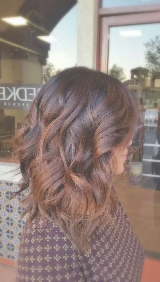 20 Amazing Brunette & Brown Hairstyle Ideas For 2017 In Most Current Fall Medium Hairstyles (View 3 of 25)
