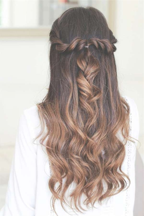 20 Awesome Half Up Half Down Wedding Hairstyle Ideas Regarding Most Up To Date Long Hairstyle For Wedding (View 22 of 25)