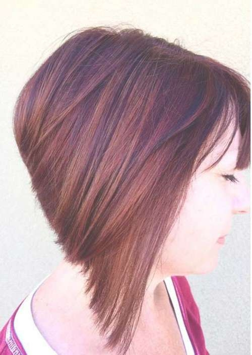 20 Best Angled Bob Hairstyles | Short Hairstyles 2016 – 2017 Pertaining To Angled Bob Haircuts (View 4 of 25)