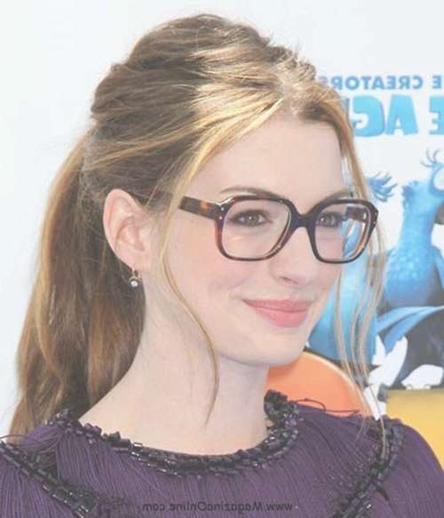 20 Best Hairstyles For Women With Glasses | Hairstyles & Haircuts For Newest Medium Hairstyles For Girls With Glasses (View 10 of 25)